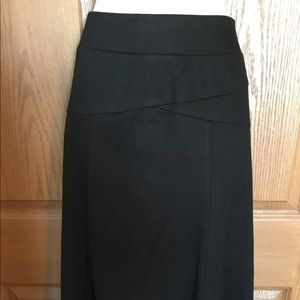 JM Collection Black Skirt Stretch Knit Size 1X